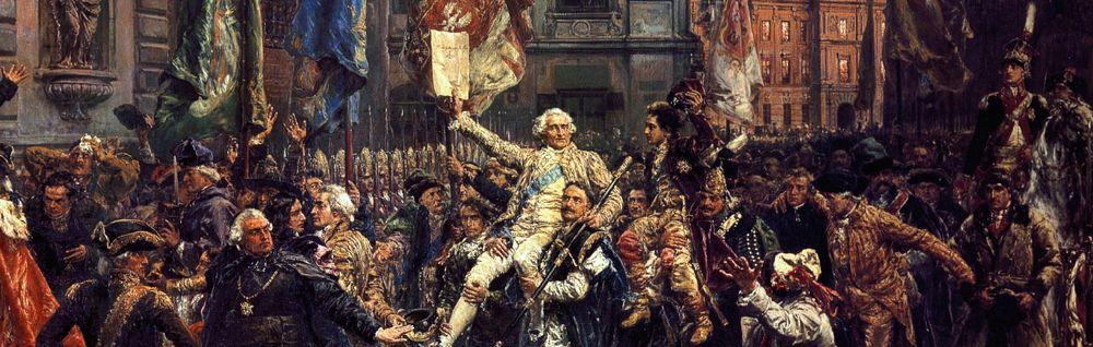 Fragment obrazu Konstytucja 3 maja