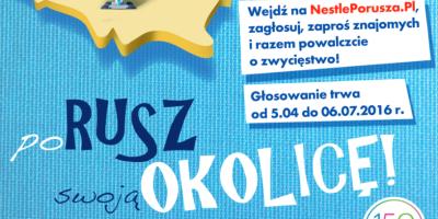 """Głosowanie w ramach akcji """"Nestle poRusza Polskę"""""""